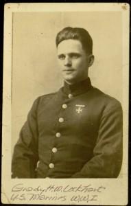"""Grady H. W. Lockhart, U.S. Marines WWI"""